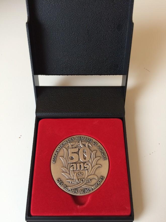 médaille AMOPA